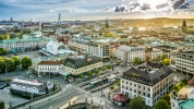View over the city of Gothenburg