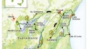 Karta Sardinien