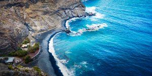 Strand på La Gomera