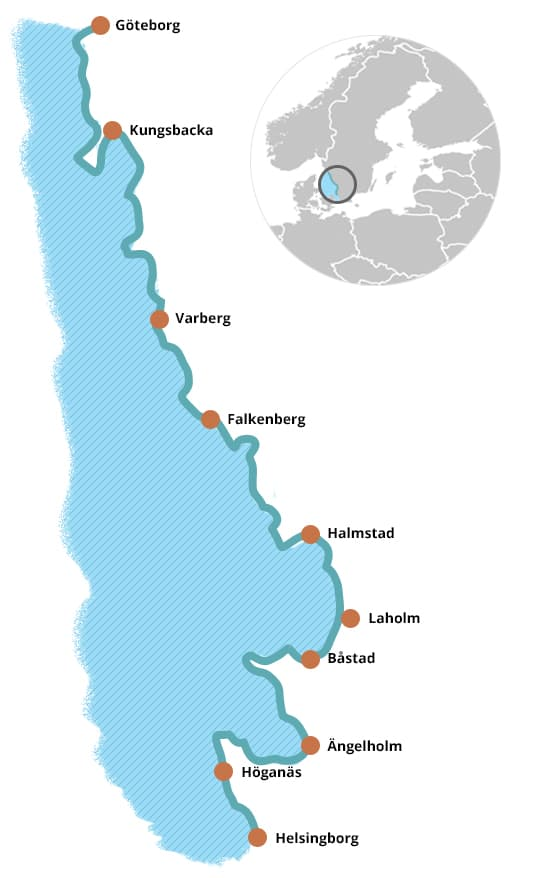 Karta Kattegattleden